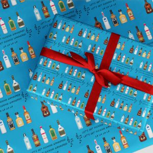 Rude Wrapping Paper 57 Look Like I Give A F*** Christmas and Birthday Gift Wrap